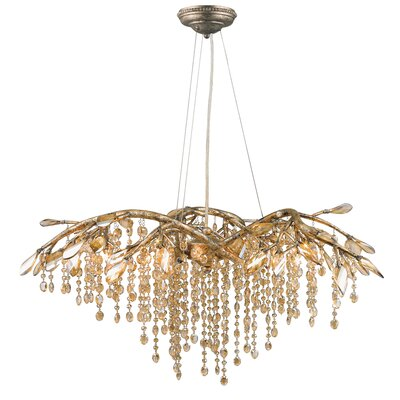 Destrie 6-Light Crystal Chandelier
