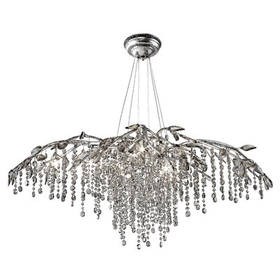 Destrie Crystal Chandelier Size: 12 Light