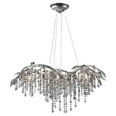 Destrie Crystal Chandelier Size: 6 Light