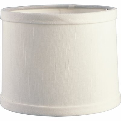 6 Fabric Drum Candelabra Shade Finish: Off White
