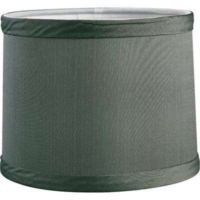 Remi 6 Fabric Drum Candelabra Shade Finish: Blue/Green