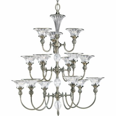 Edouard 15-Light Shaded Chandelier
