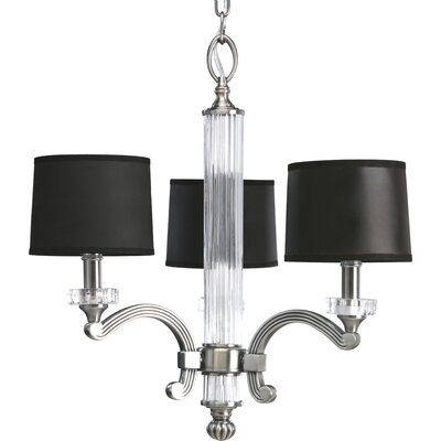 Remi 3-Light Shaded Chandelier