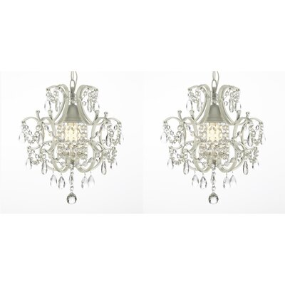 Evon 1-Light Crystal Mini Pendant