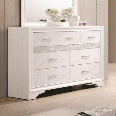 Alessandra 7 Drawer Dresser