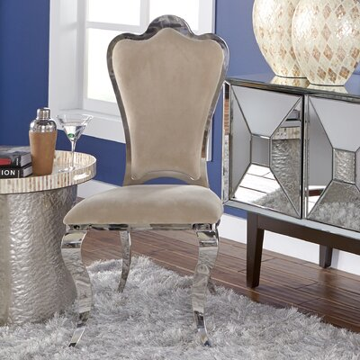 Delana Stainless Steel Side Chair