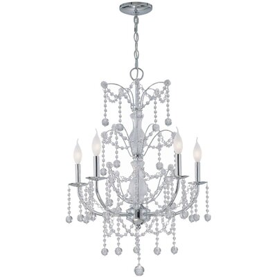 Shana 5-Light Crystal Chandelier