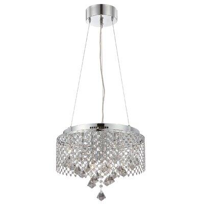 Alderamin 9-Light Crystal Chandelier