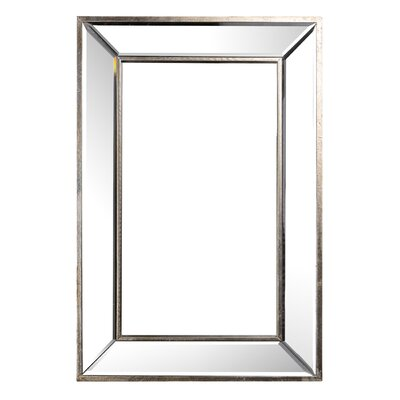Rectangle Accent Wall Mirror Size: 24