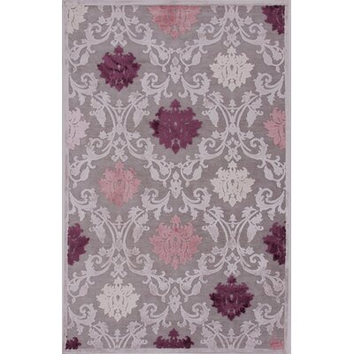 One-of-a-Kind Bowles Machine-Woven Chenille Gray Area Rug Rug Size: Rectangle 9 x 12