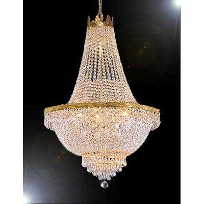 Dyann 1-Light Empire Chandelier Size: 50 H x 40 W x 40 D