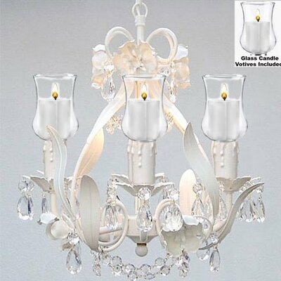 Tobias 4-Light Candle-Style Chandelier