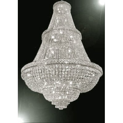 Montana 48-Light Empire Chandelier