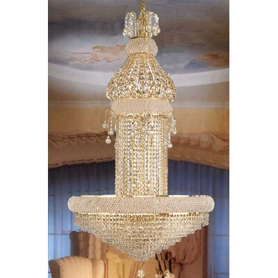 Montana 20-Light Crystal Chandelier