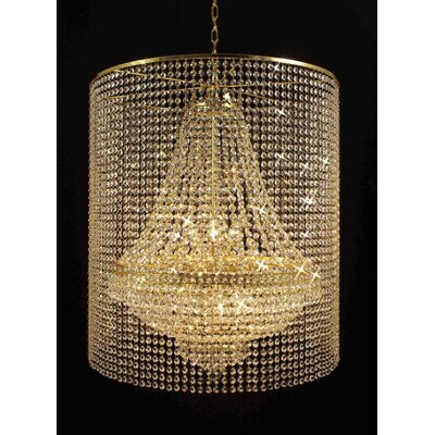 Montana 9-Light Crystal Chandelier