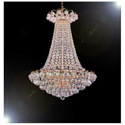 Montana 4-Light Crystal Chandelier