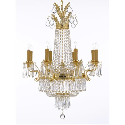 Montana 12-Light Crystal Chandelier