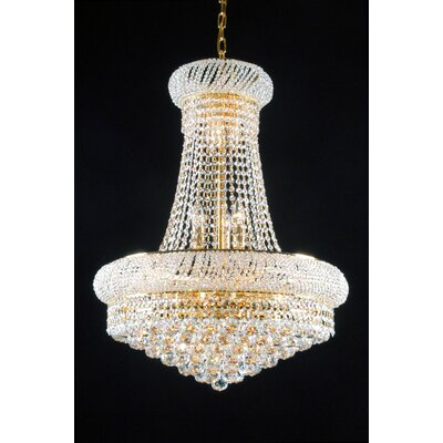 Montana 15-Light Crystal Chandelier