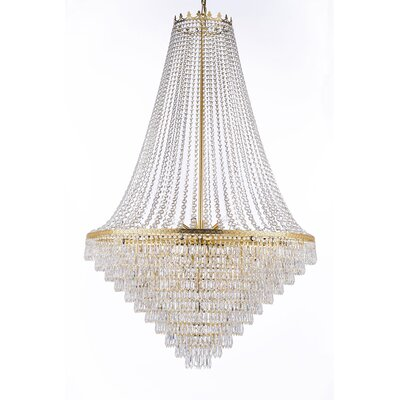 Montana 24-Light Empire Chandelier