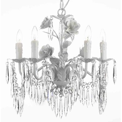 Tobias 5-Light Crystal Chandelier