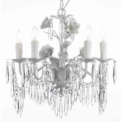 Marlee 5-Light Crystal Chandelier