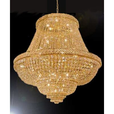 Montana 48-Light Crystal Chandelier