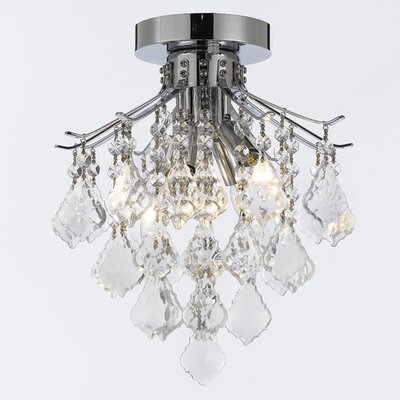 Montana 4-Light Semi Flush Mount