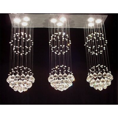 Iona 9-Light Crystal Chandelier