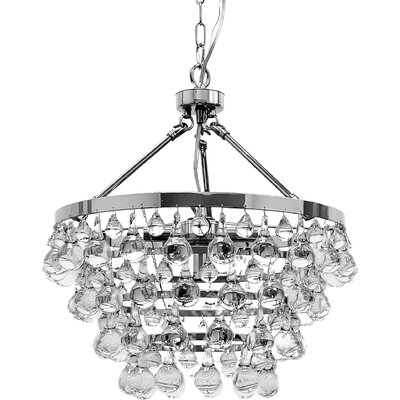Ahern 5-Light Crystal Chandelier