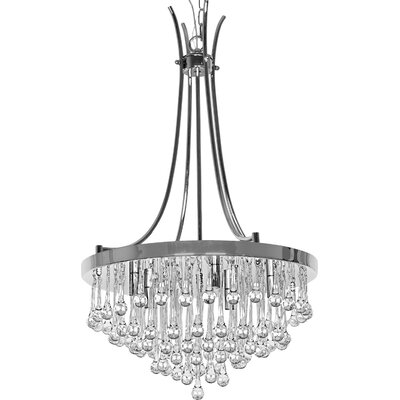Aidan 5-Light LED Crystal Chandelier