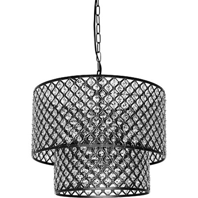 Fabrizia 8-Light LED Drum Chandelier