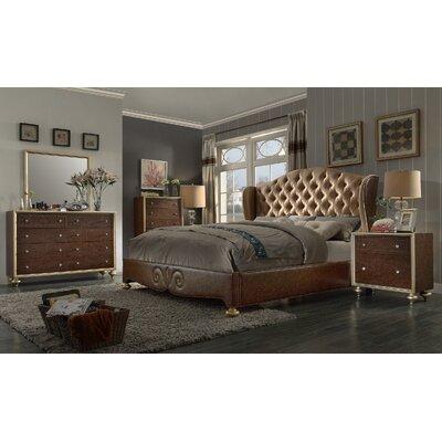 Birmingham Panel Bedroom Set Size: Queen