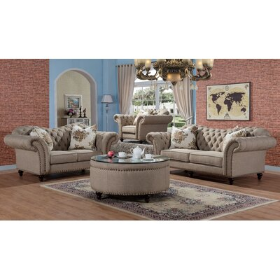 Willa Arlo Interiors WLAO1391 Rohan Sofa and Loveseat Set