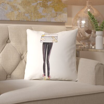 Alison B Legs Gifts 2 Throw Pillow Size: 16 H x 16 W x 2 D