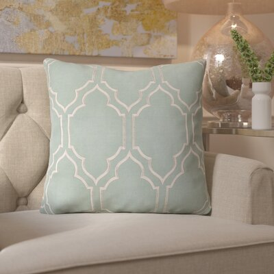 Honiton Linen Throw Pillow Size: 22