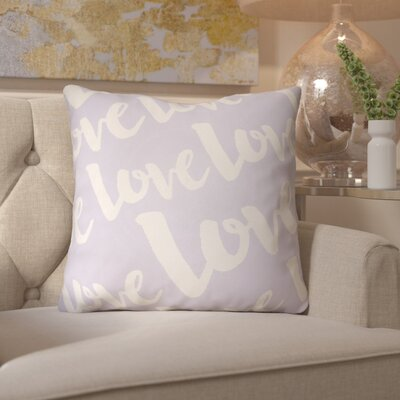 Bradford-On-Avon Outdoor Throw Pillow Size: 18 H x 18 W x 4 D, Color: Light Purple