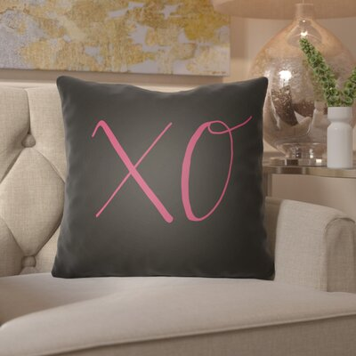 Bradford-on-Avon Indoor/Outdoor Throw Pillow Size: 20 H x 20 W x 4 D, Color: Black