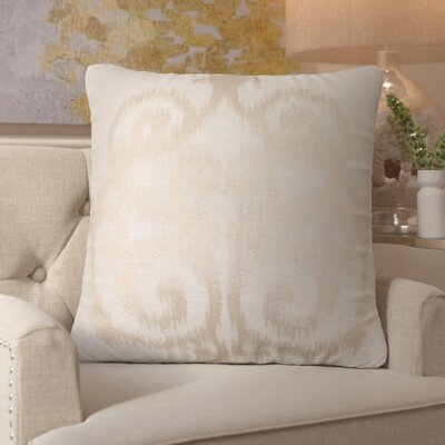 Mcfarland Square Linen Throw Pillow Size: 18 H x 18 W