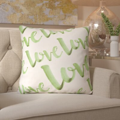 Bradford-On-Avon Outdoor Throw Pillow Size: 20 H x 20 W x 4 D, Color: Green