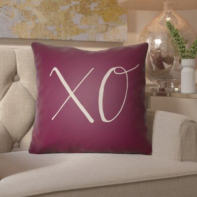 Bradford-on-Avon Indoor/Outdoor Throw Pillow Size: 18 H x 18 W x 4 D, Color: Purple