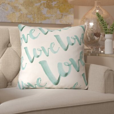 Bradford-On-Avon Outdoor Throw Pillow Size: 20 H x 20 W x 4 D, Color: Teal