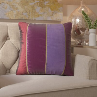 Dorking Throw Pillow in Purple
