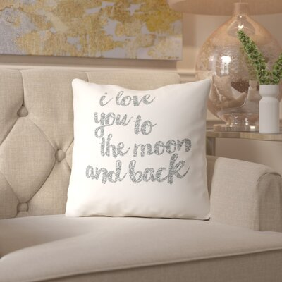 Sierra Throw Pillow Size: 20 H x 20 W x 2 D, Color: Silver