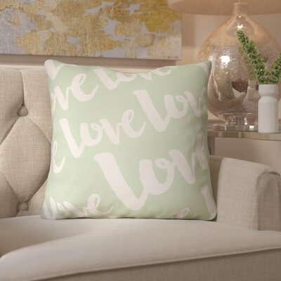 Bradford-On-Avon Outdoor Throw Pillow Size: 20 H x 20 W x 4 D, Color: Green/White