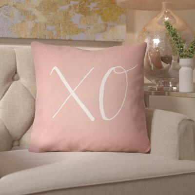Bradford-on-Avon Indoor/Outdoor Throw Pillow Size: 18 H x 18 W x 4 D, Color: Pink
