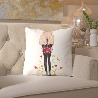 Alison B Boho Fall Throw Pillow Size: 18 H x 18 W x 2 D