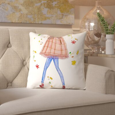 Alison B Cape Fall Throw Pillow Size: 16 H x 16 W x 2 D