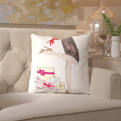 Alison B Legs Gifts Throw Pillow Size: 18 H x 18 W x 2 D