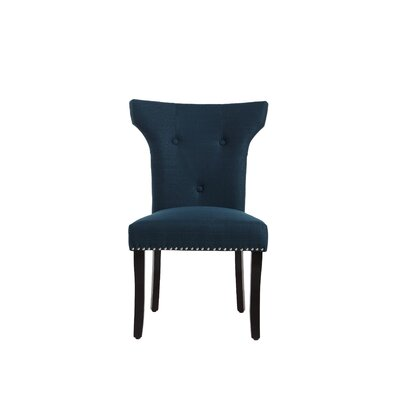 Roseta Side Chair Upholstery: Azure