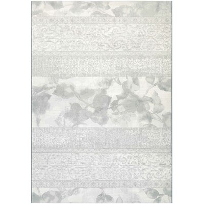 Norman Pearl Area Rug Rug Size: Rectangle 53 x 76